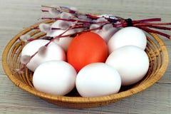 3 d koloru Wielkanoc jaj grafiki komputerowych Zdjęcie Stock