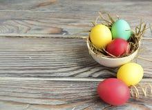 3 d koloru Wielkanoc jaj grafiki komputerowych Obraz Stock