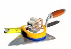 3d komputeru domu modela wzorowanie ilustracji