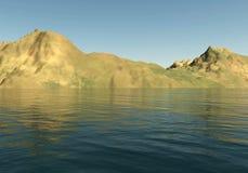 3d krajobrazowe góry royalty ilustracja