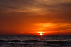3 d krajobrazu panoramy morza słońca Obraz Stock
