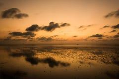 3 d krajobrazu panoramy morza słońca składu projekta elementu natury raj Fotografia Royalty Free