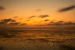3 d krajobrazu panoramy morza słońca składu projekta elementu natury raj Zdjęcie Royalty Free