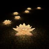3d kwiaty Obraz Stock