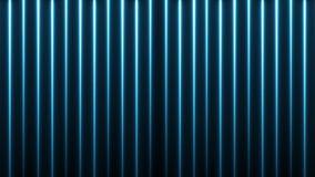 3d l?neas incons?tiles abstractas fondo Movimientos de ne?n que brillan intensamente fluorescentes colocados p?rpuras azules de l stock de ilustración