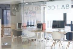 3D laboratorium Stock Foto