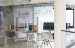 3D laboratorium Stock Fotografie