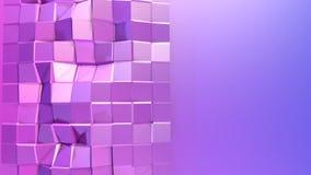 3d lage poly abstracte geometrische achtergrond met moderne gradiëntkleuren 3d kleuren van de oppervlakte blauwe violette gradiën royalty-vrije illustratie
