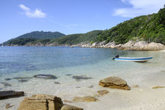 D Lagoon bay in Perhentian Malaysia Royalty Free Stock Images