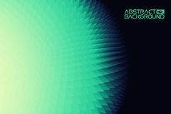 3D landscape Background. green to blue Gradient Abstract Vector Illustration.Computer Art Design Template. Landscape Stock Photography