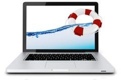 3d laptop Zdjęcia Royalty Free