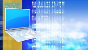 3d Laptop PC Royalty-vrije Stock Afbeelding