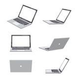 3D Laptop spatie Royalty-vrije Stock Afbeeldingen