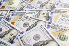 D?lares americanos do fundo Usd do dinheiro do dinheiro imagens de stock royalty free