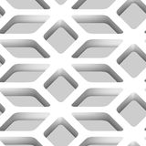 3D Lattice Vector Seamless Pattern Stock Images