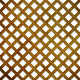 3D lattice wood background. 3D render of a wood lattice background Stock Photo