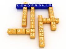 3d Leadership Royalty Free Stock Image