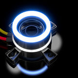 3d led lights. Royalty Free Stock Images