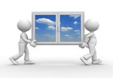 Fenêtre illustration libre de droits