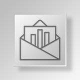 3D Letter Button Icon Concept. 3D Symbol Gray Square Letter Button Icon Concept Stock Images