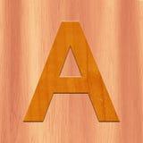 3D lettera A illustrazione vettoriale