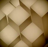 3d levels Cardboard Texture illustration design Royalty Free Stock Image