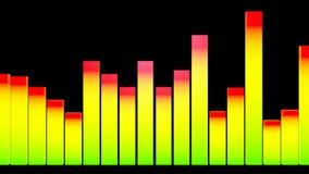 3d lever bar dance stock video