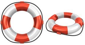 3d Lifebuoy illustrazione di stock