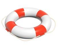 3d lifebuoy. Object isolated on white background Stock Images