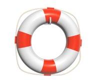 3d lifebuoy. Object isolated on white background Stock Photo