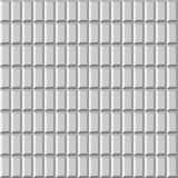 3D light tiled wall. Seamless vector pattern background.  Stock Image