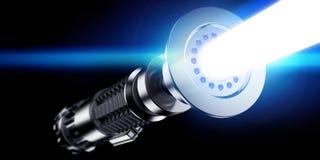 3D Lightsaber Hilt Stock Images