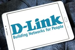 D-Link Corporation logo Royalty Free Stock Photo