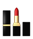 3d lipstick isolated over white Stock Photo