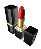3d lipstick isolated over white Royalty Free Stock Image