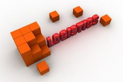 3d logistics Royalty Free Stock Photo