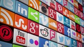 3D Logo Animations of All Social Media Platforms