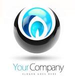 3D Logo Design Royalty Free Stock Photo