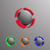 3D Logo2 Royalty Free Stock Photo