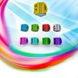 3D logo Royalty Free Stock Image