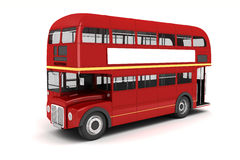 3d London bus Royalty Free Stock Image