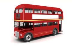 3d London bus Royalty Free Stock Image