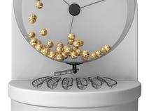 3d lottery machine concept Stock Photo