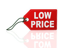 3d low price tag label word text Stock Photos