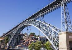 D. Luis 1 bridge. Porto , Portugal Royalty Free Stock Photos
