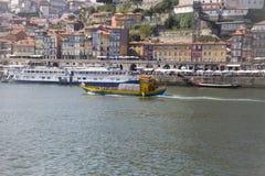 D Luis Bridge Porto, Portugal Arkivfoto