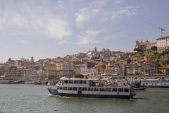 D Luis Bridge Porto, Portugal Arkivbilder