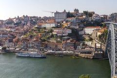 D Luis Bridge Porto, Portugal Royaltyfria Foton