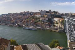 D. Luis Bridge, Porto, Portugal. Royalty Free Stock Photography
