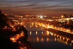 D.Luis I Brücke - Oporto lizenzfreie stockfotografie